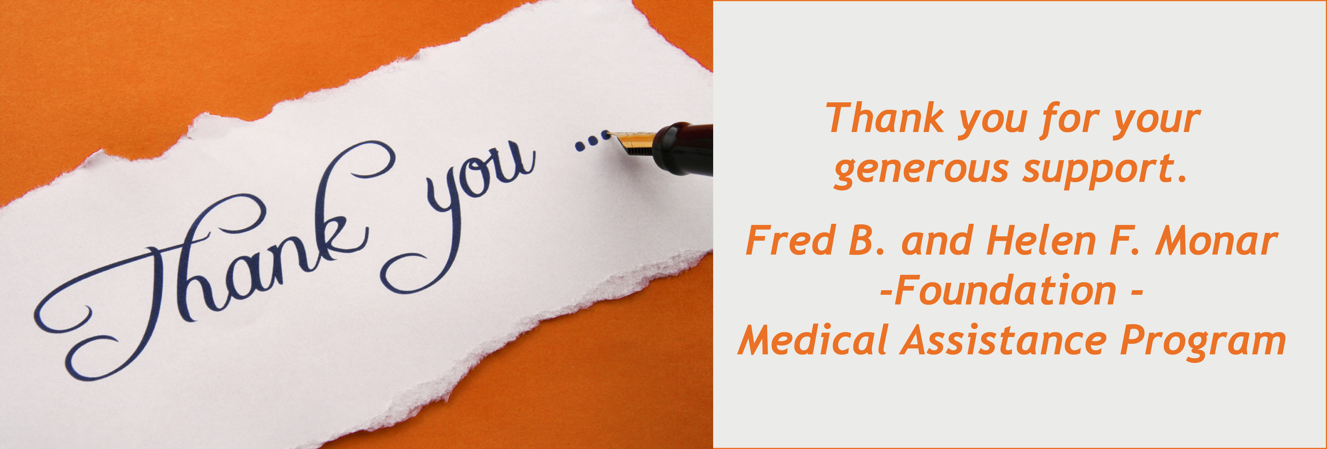 thank-you Fred
