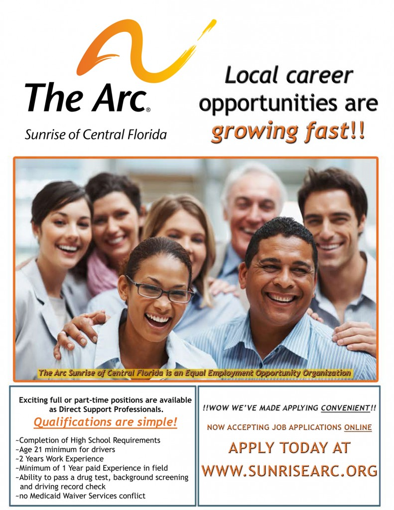The Arc Sunrise employment flyer1c102114